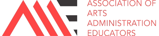 The Association of Arts Administration Educators (AAAE) logo